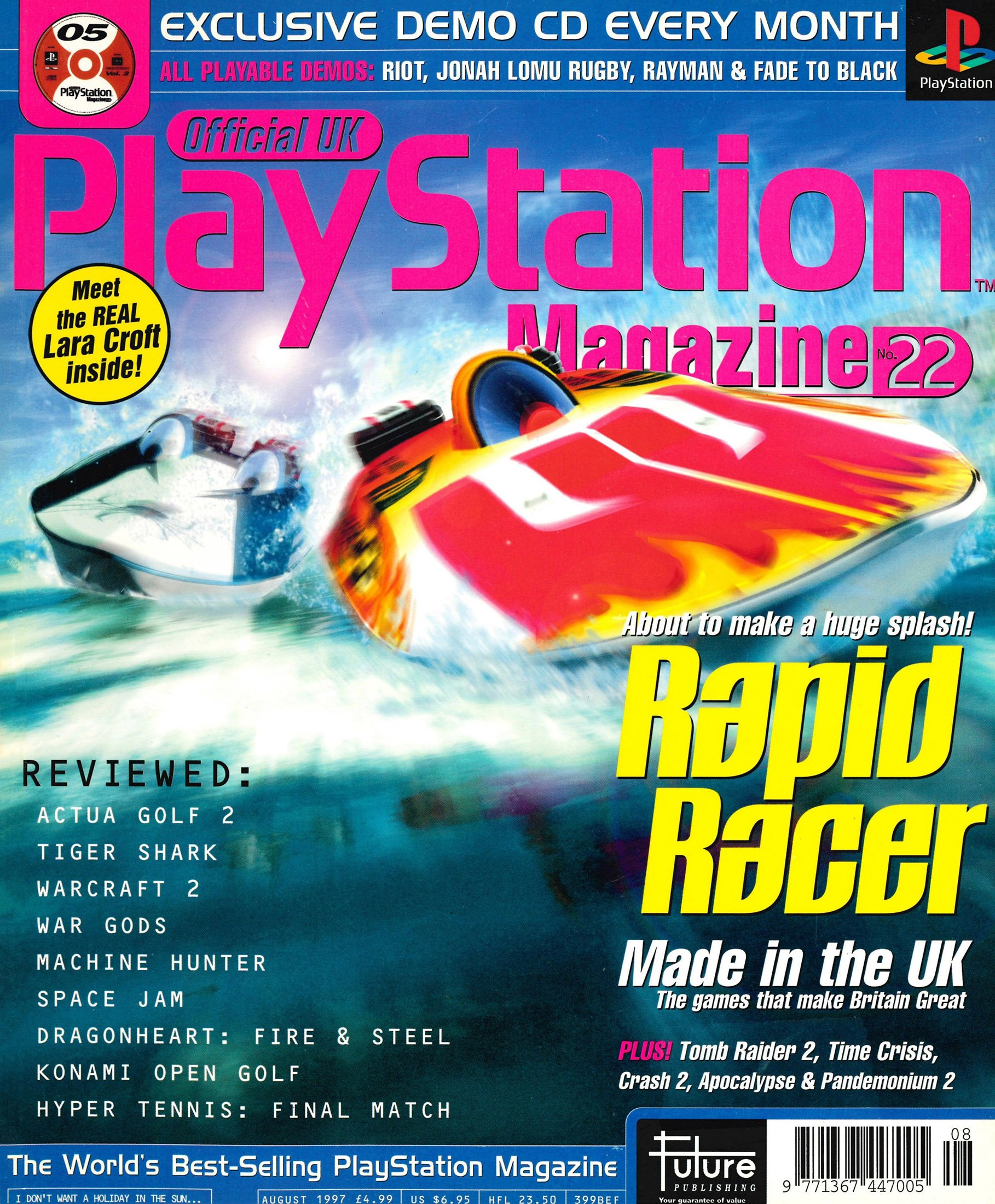 Official UK PlayStation Magazine Issue 022 (August 1997)