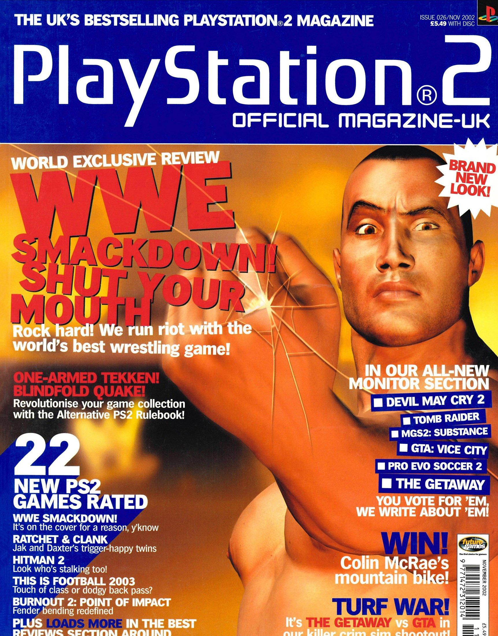 Official Playstation 2 Magazine UK 026 (November 2002)