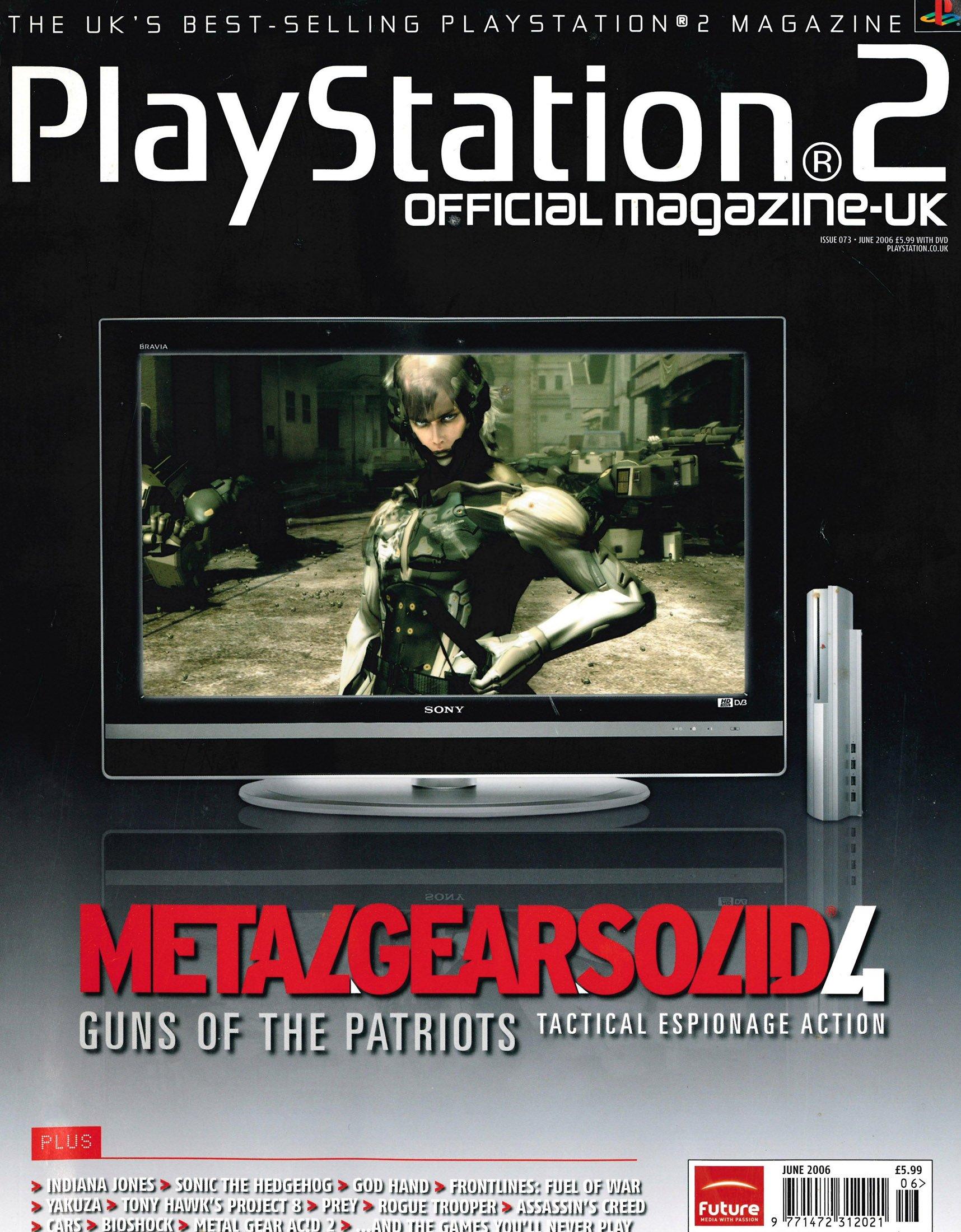 Official Playstation 2 Magazine UK 073 (June 2006)