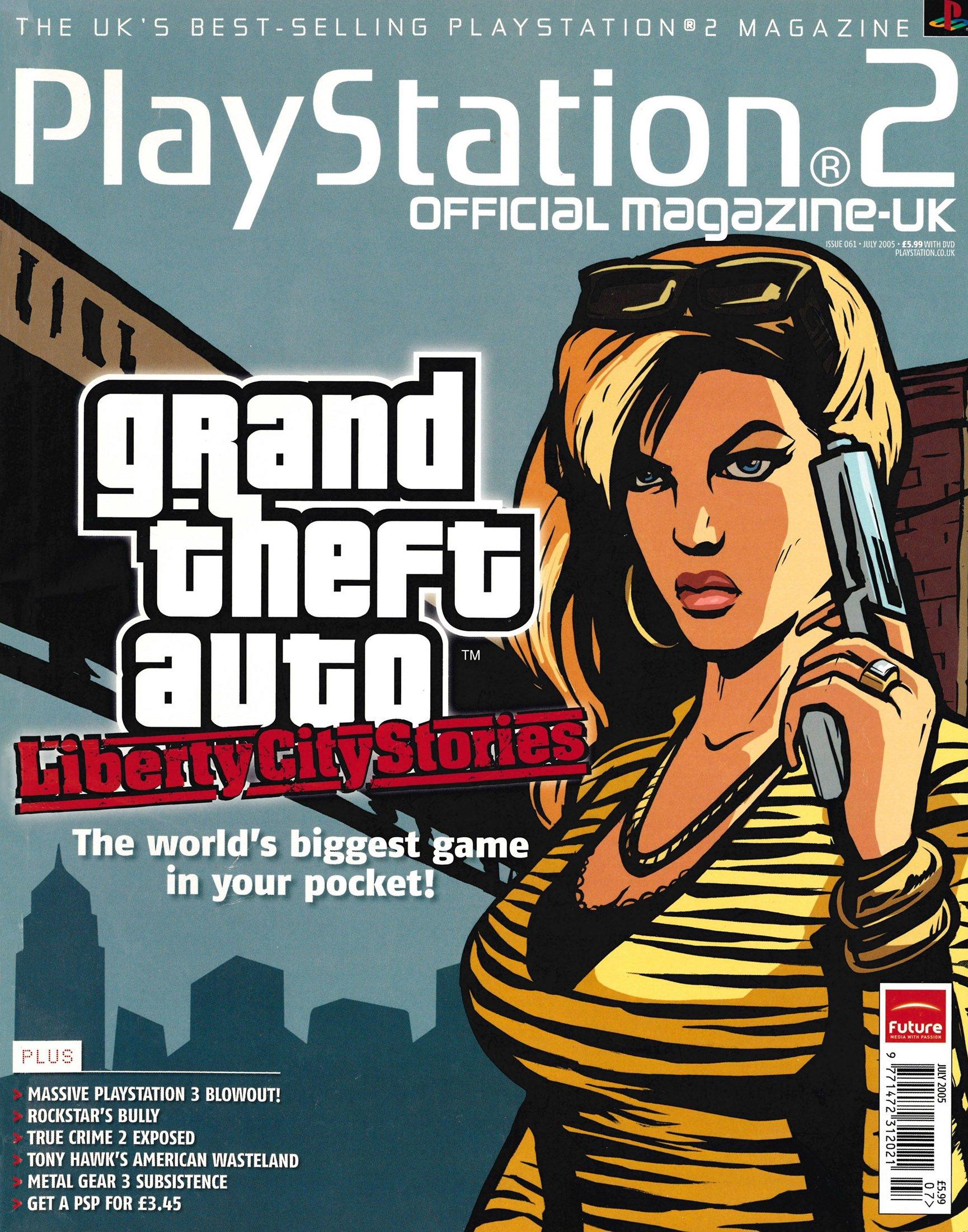 Official Playstation 2 Magazine UK 061 (July 2005)
