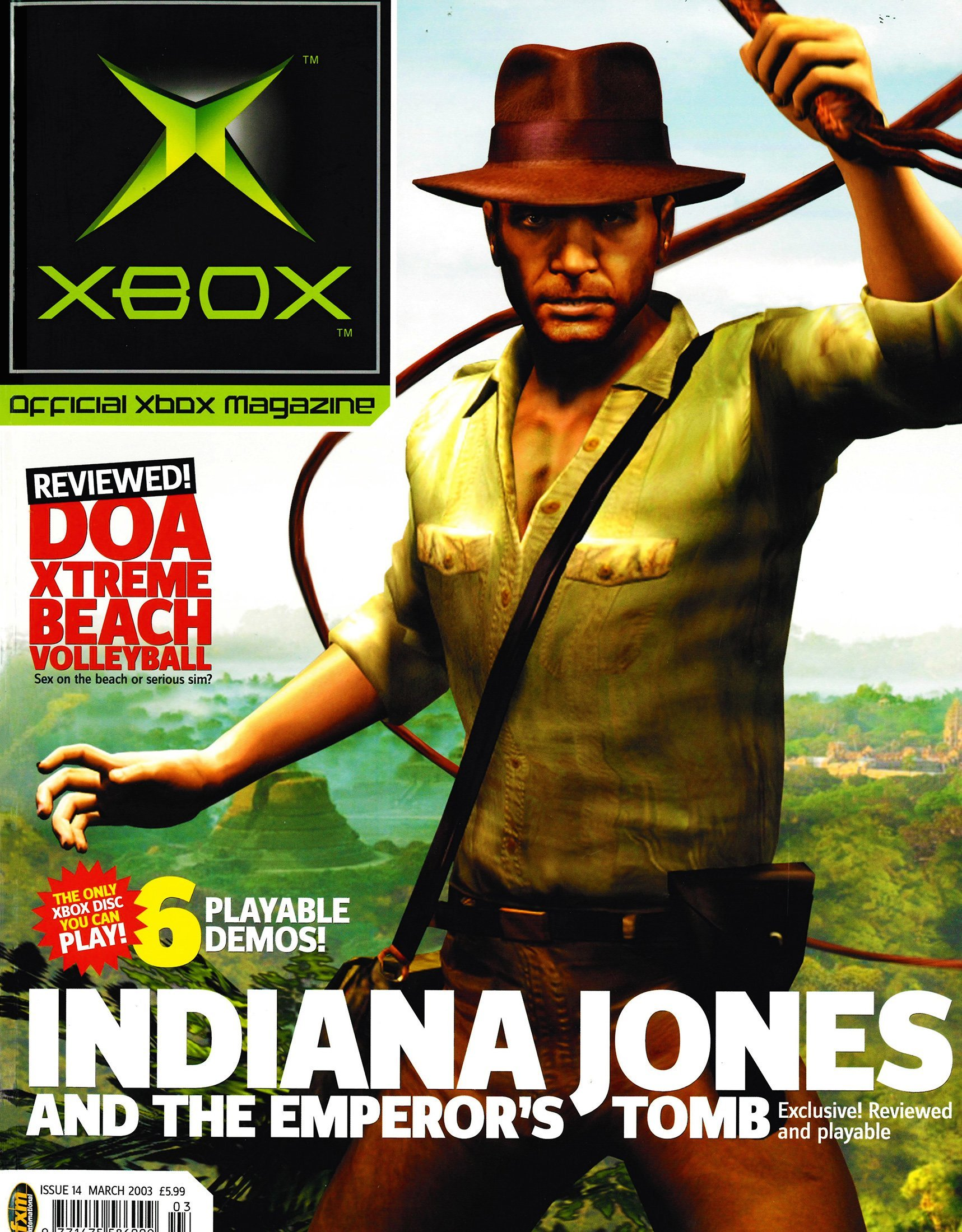 Official UK Xbox Magazine Issue 14 - March 2003