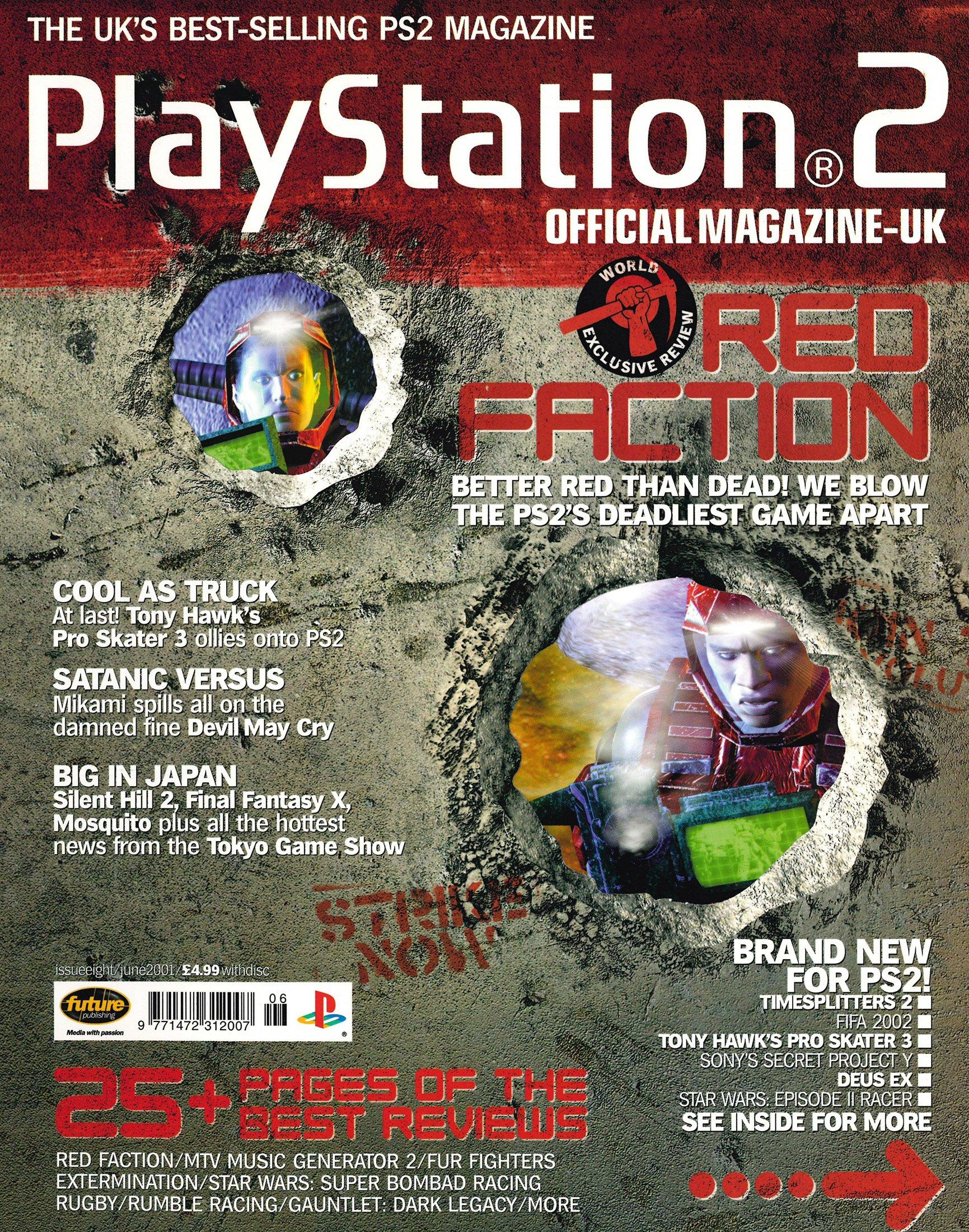 Official Playstation 2 Magazine UK 008 (June 2001)