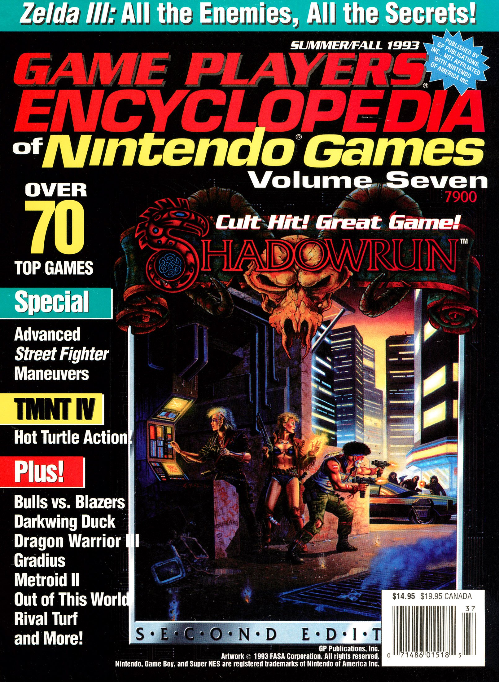 Game Players Encyclopedia of Nintendo Games Volume Seven (Summer-Fall 1993)
