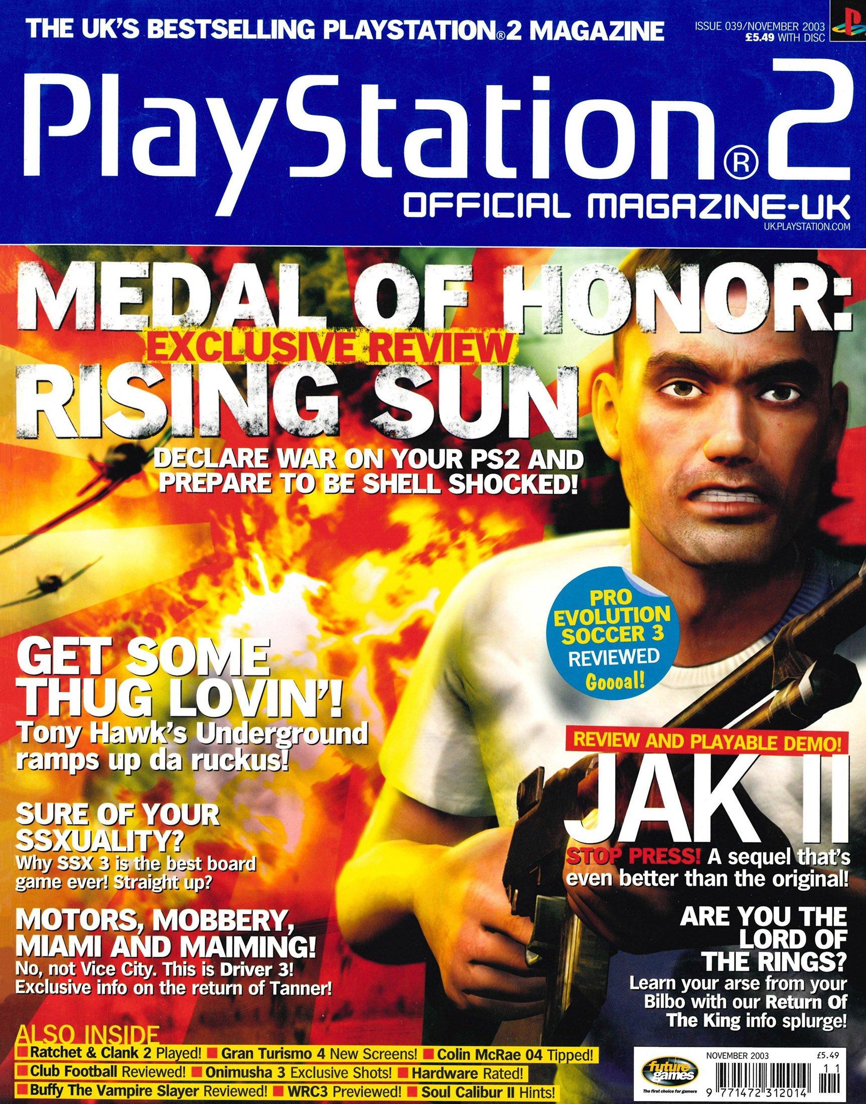 Official Playstation 2 Magazine UK 039 (November 2003)