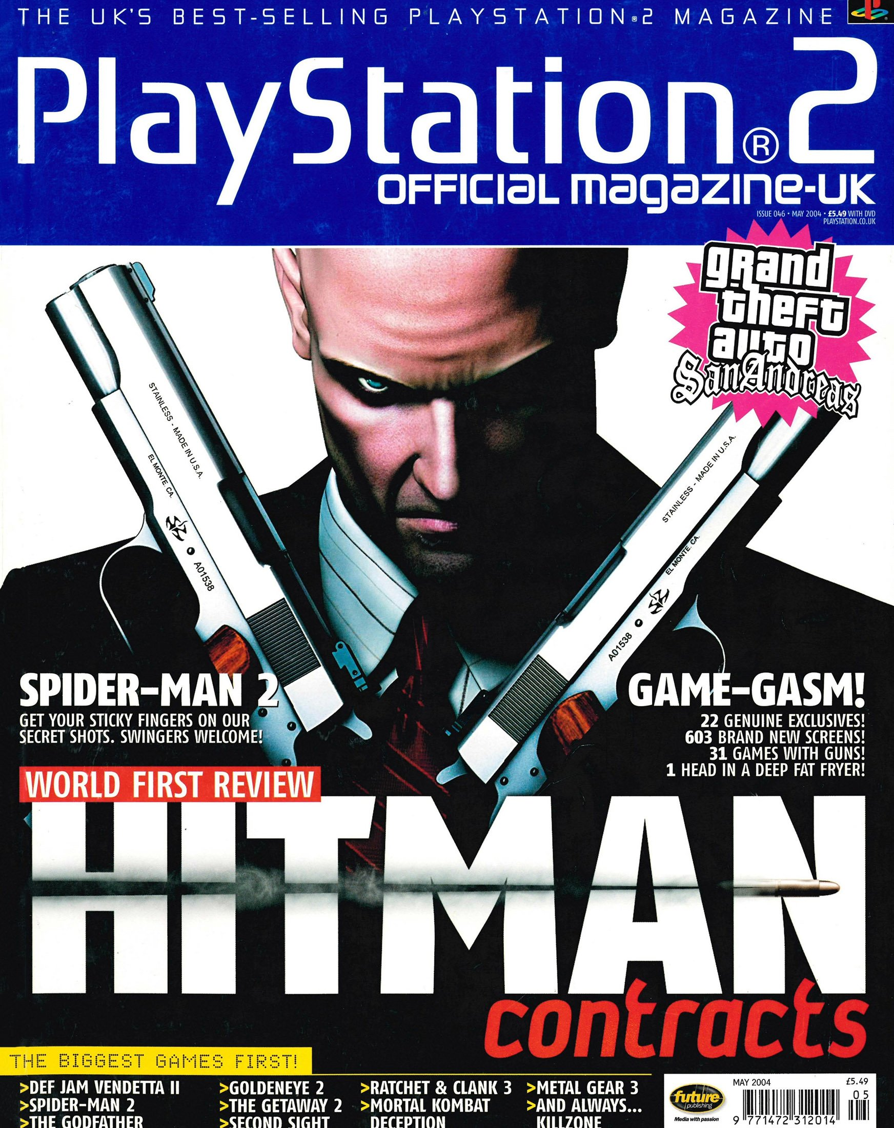 Official Playstation 2 Magazine UK 046 (May 2004)