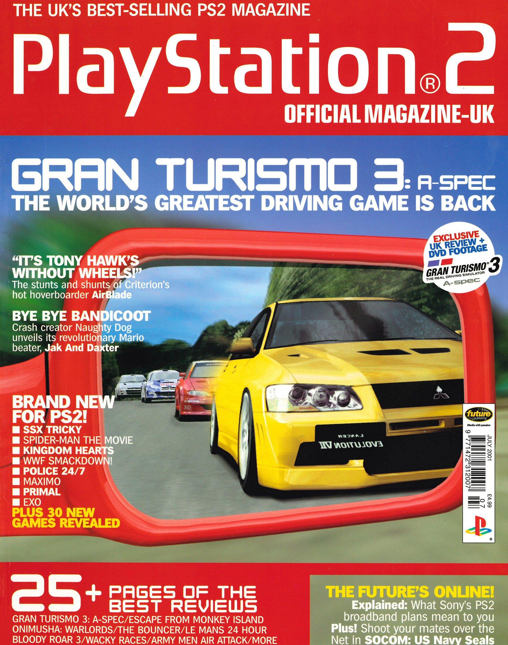 Official Playstation 2 Magazine UK 009 (July 2001)