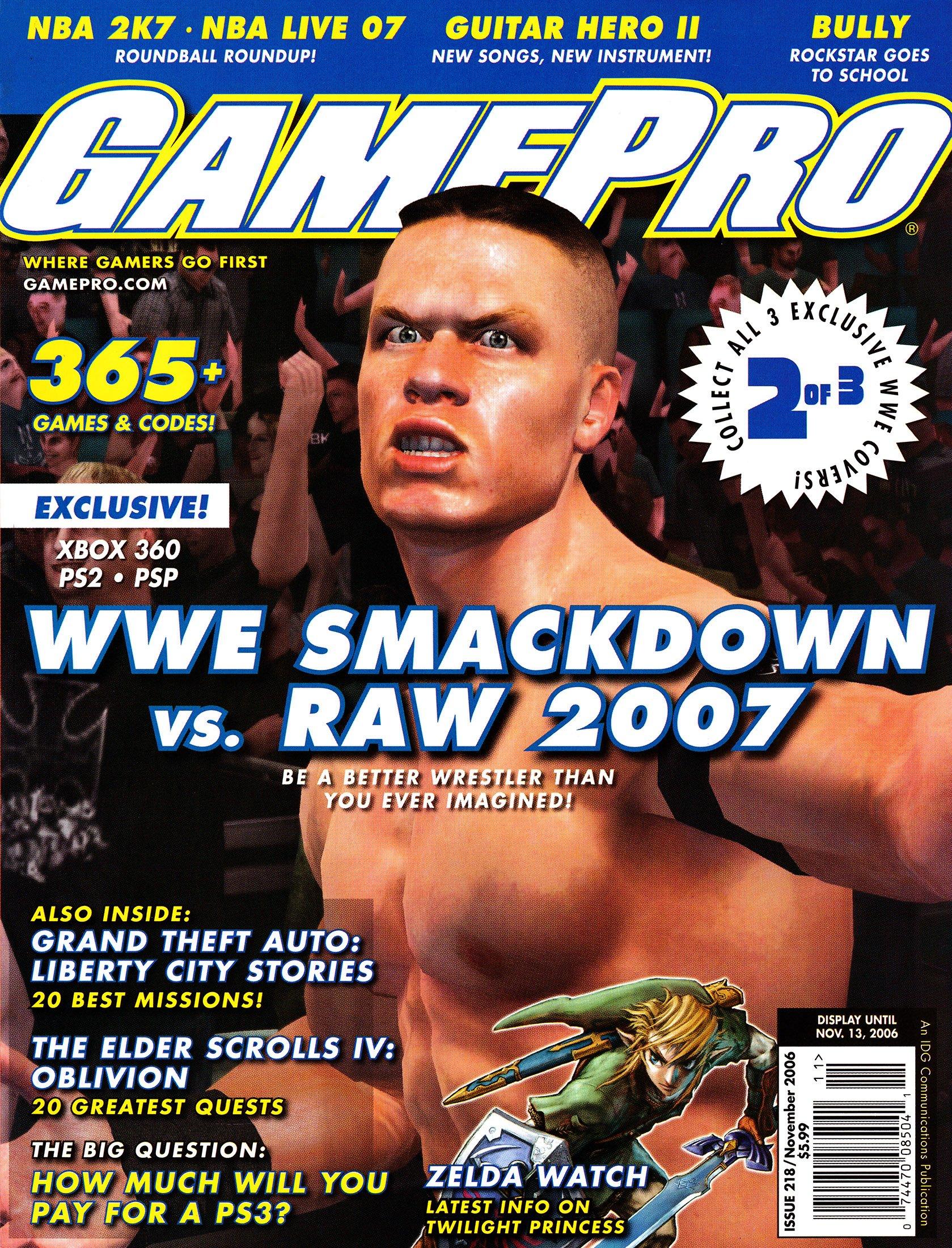 GamePro Issue 218 November 2006 (Cover 2 of 3)