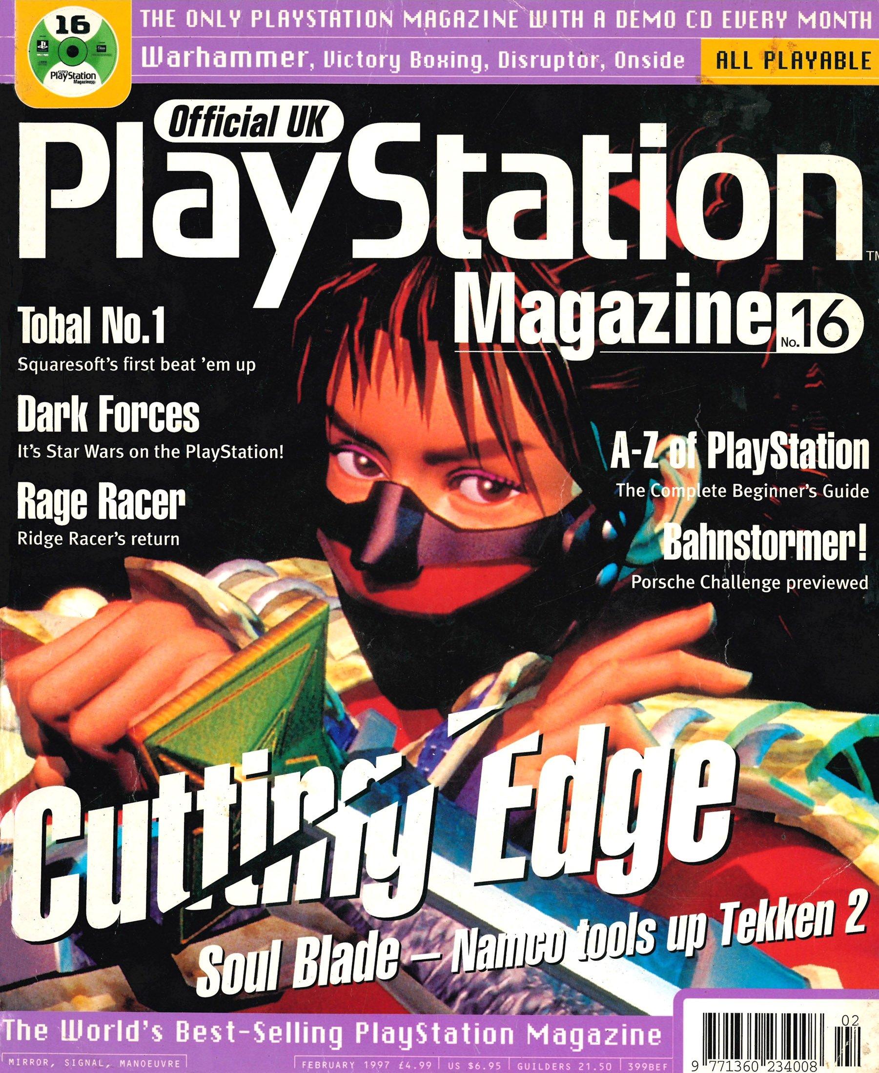Official UK PlayStation Magazine Issue 016 (February 1997)