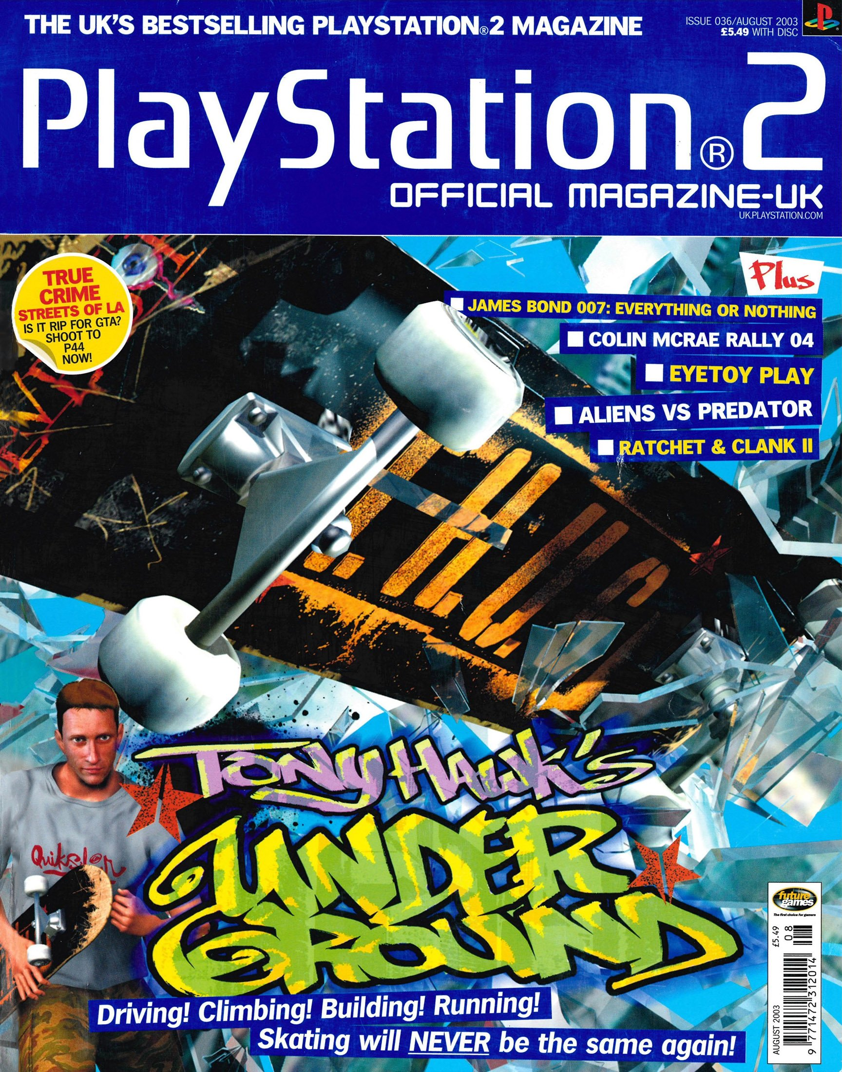 Official Playstation 2 Magazine UK 036 (August 2003)