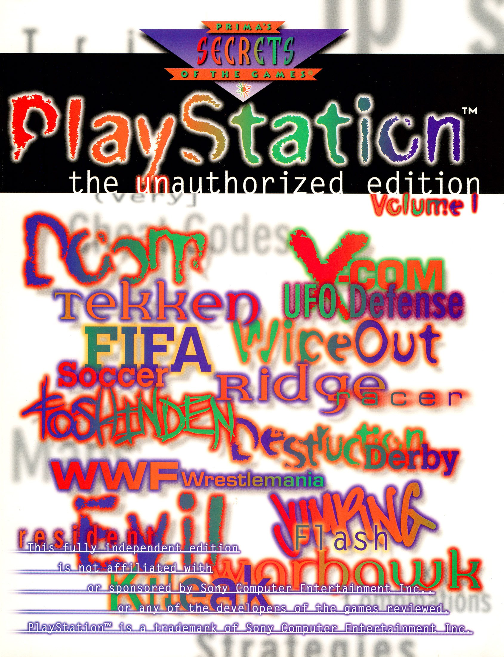 PlayStation Game Secrets - The Unauthorized Edition Volume 1
