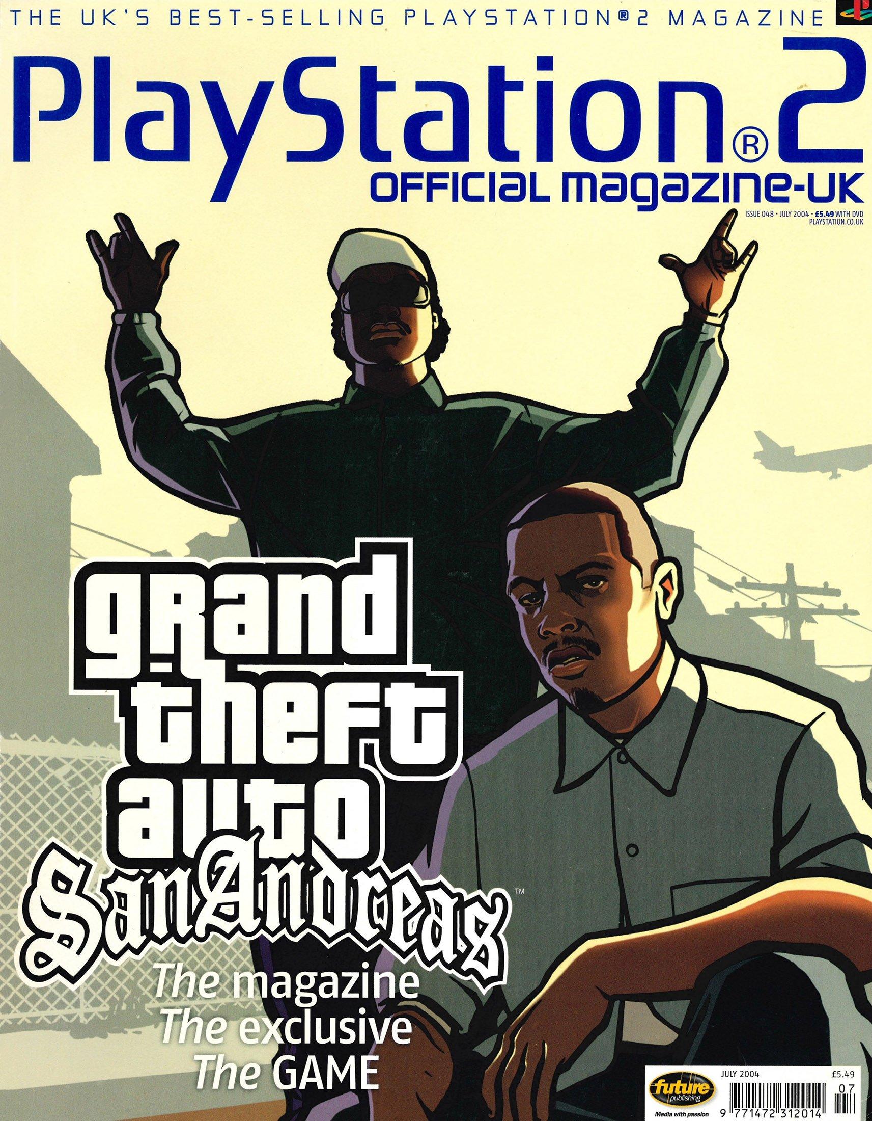 Official Playstation 2 Magazine UK 048 (July 2004)