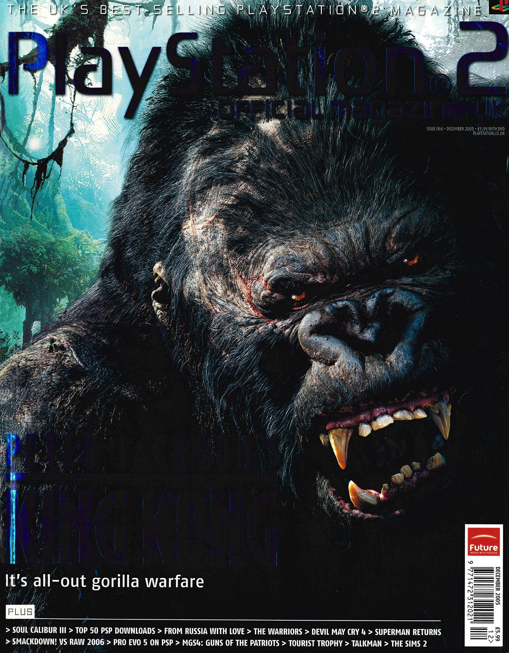 Official Playstation 2 Magazine UK 066 (December 2005)