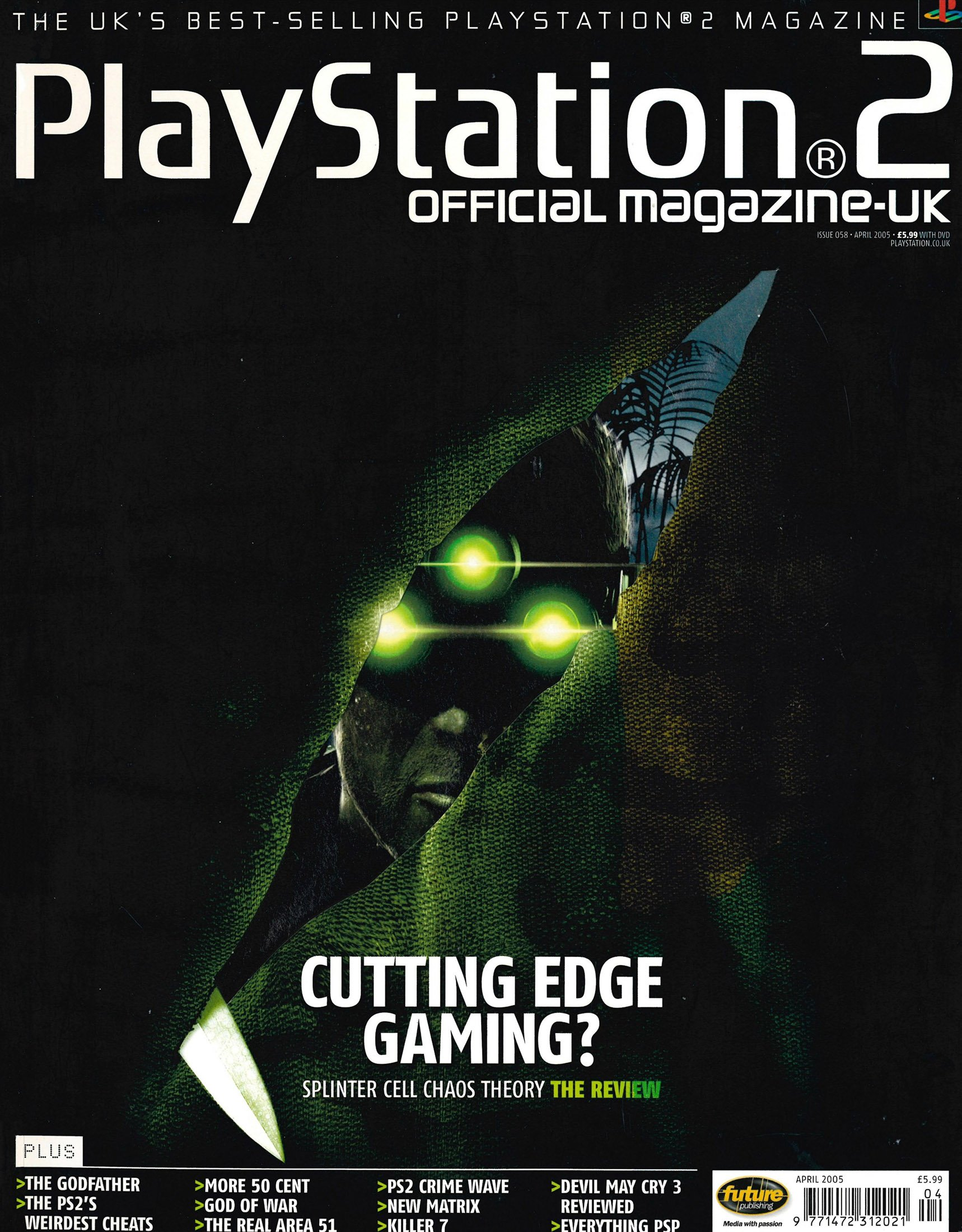 Official Playstation 2 Magazine UK 058 (April 2005)