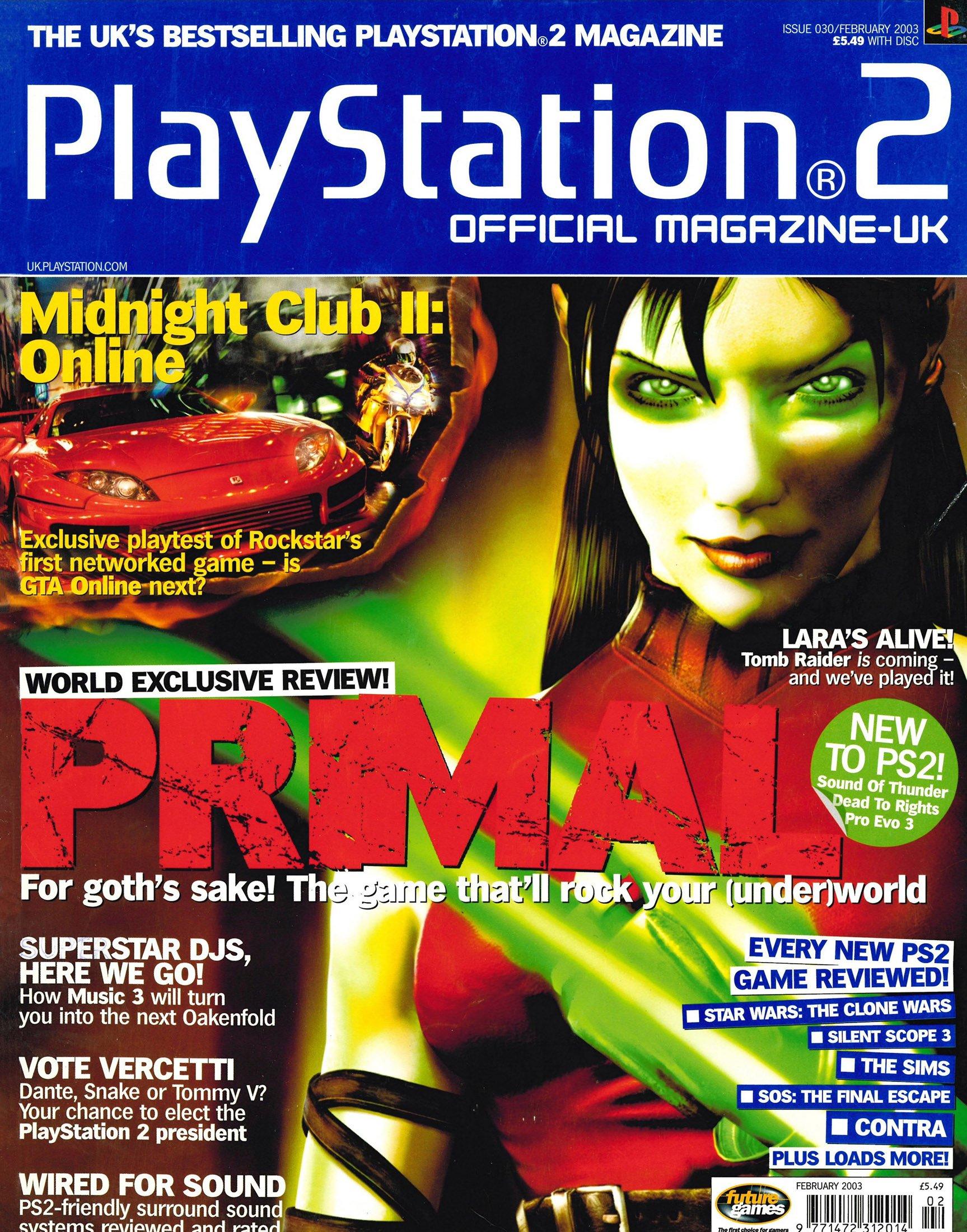Official Playstation 2 Magazine UK 030 (February 2003)