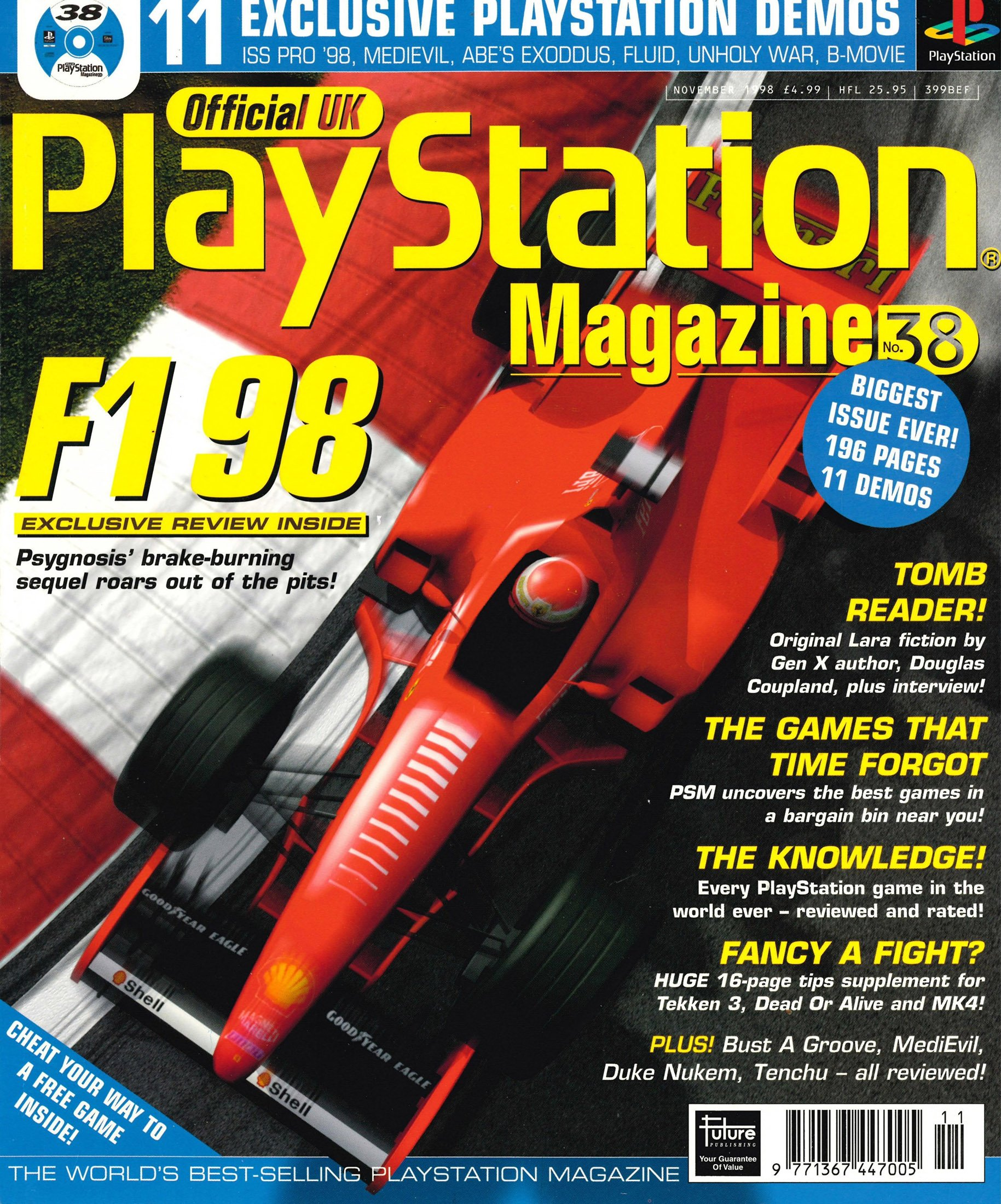Official UK PlayStation Magazine Issue 038 (November 1998)