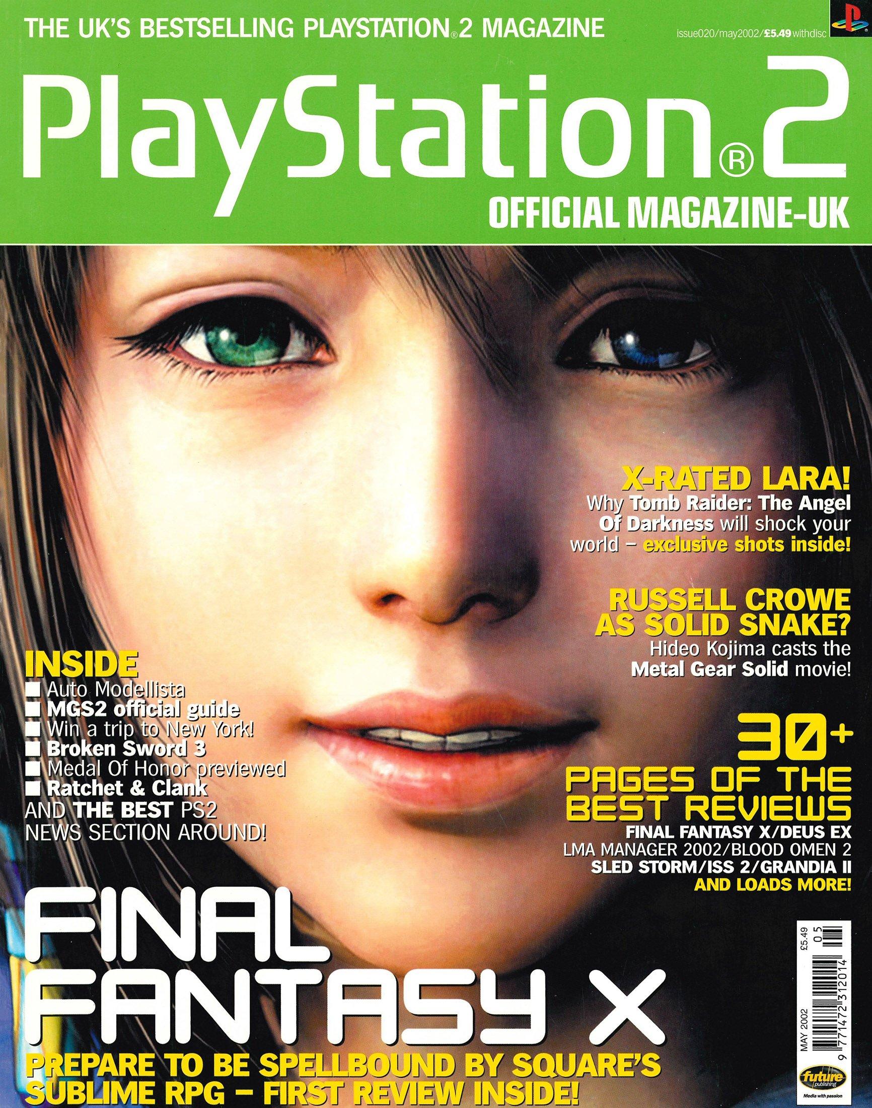 Official Playstation 2 Magazine UK 020 (May 2002)