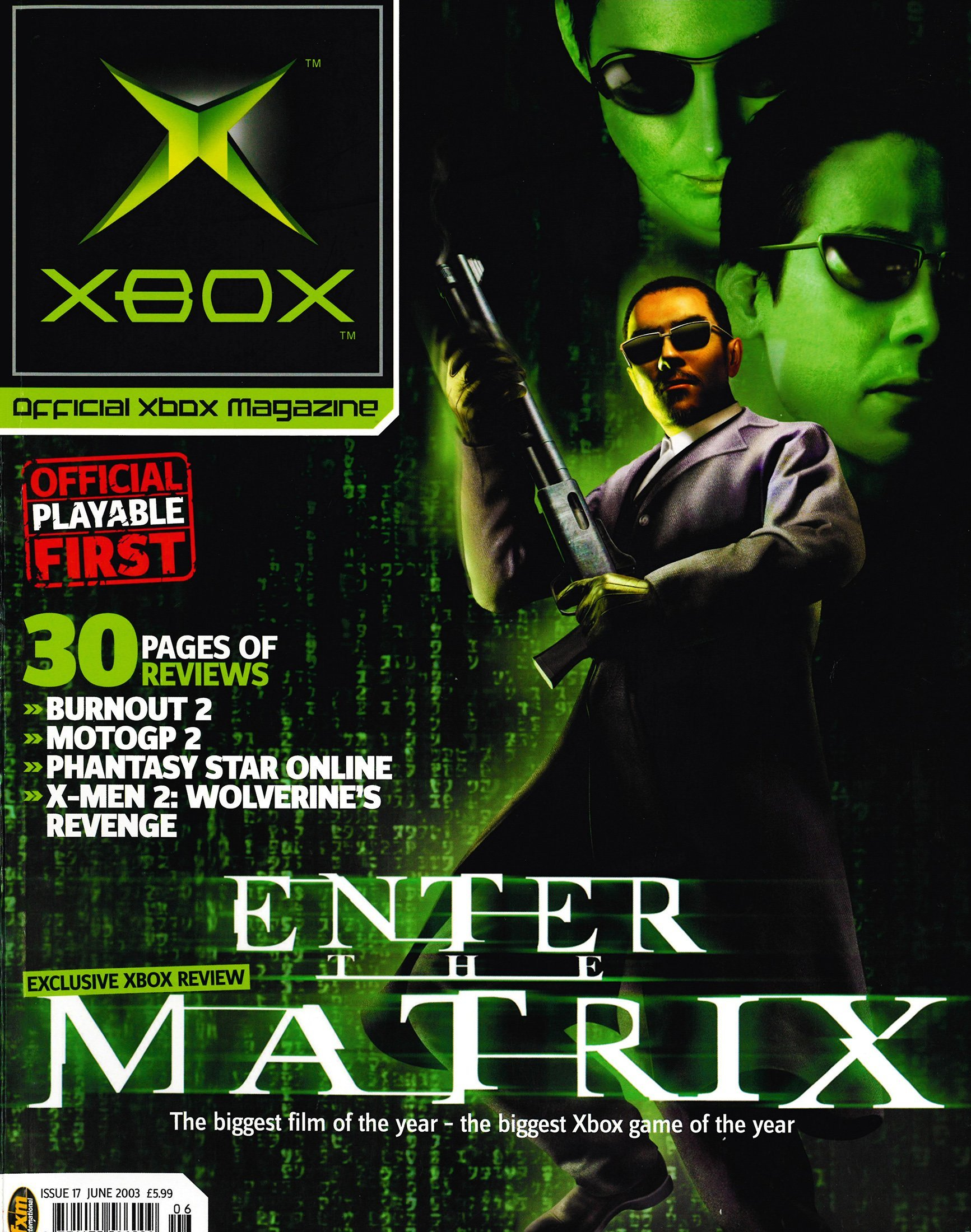 Official UK Xbox Magazine Issue 17 - June 2003
