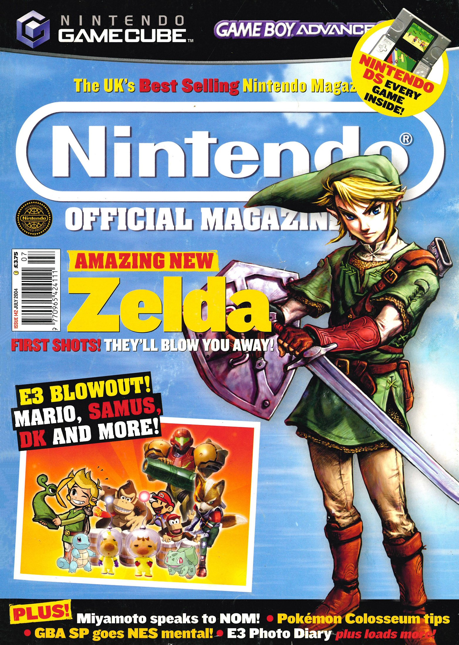 Nintendo Official Magazine 142 (July 2004)