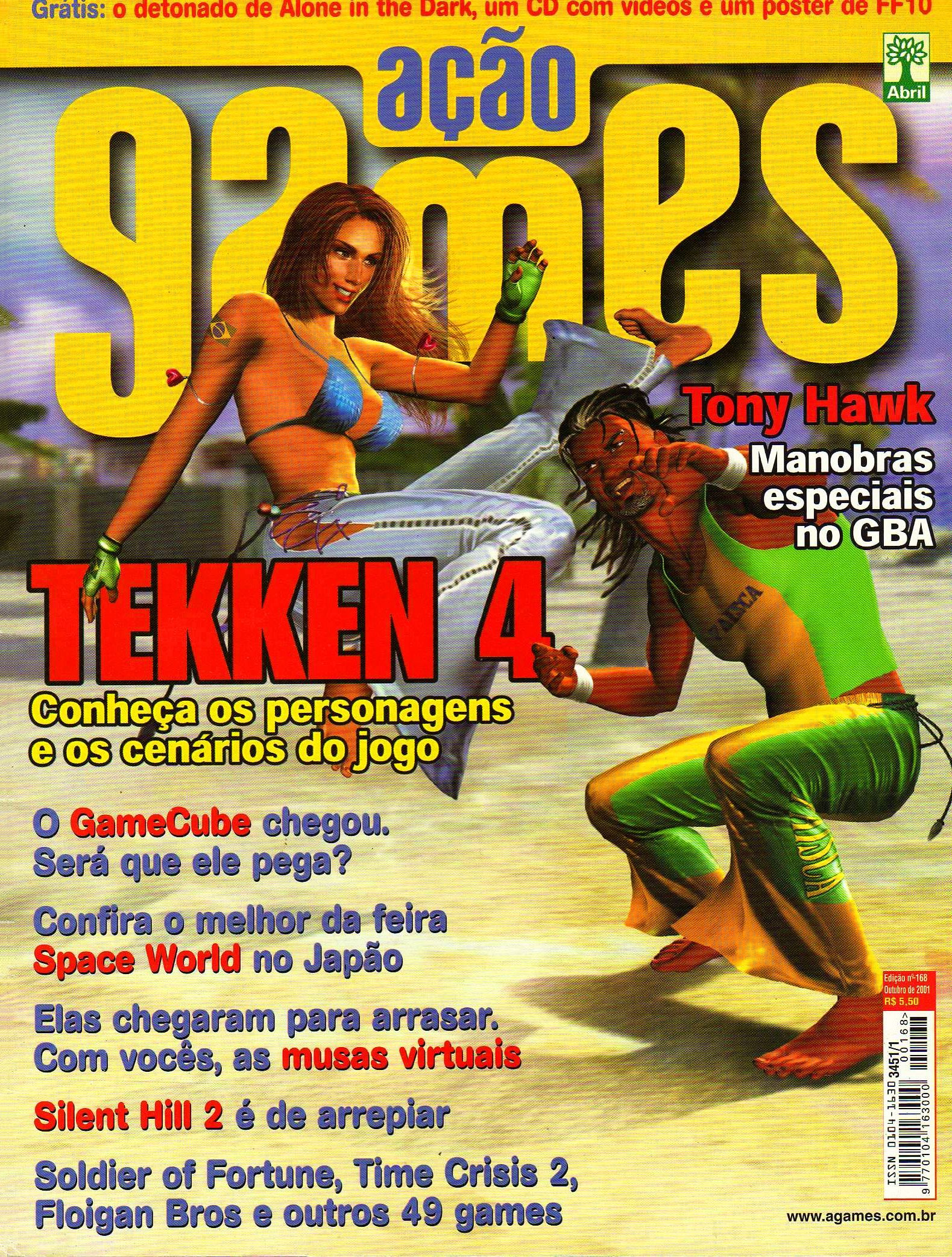 Acao Games Issue 168 (October 2001)