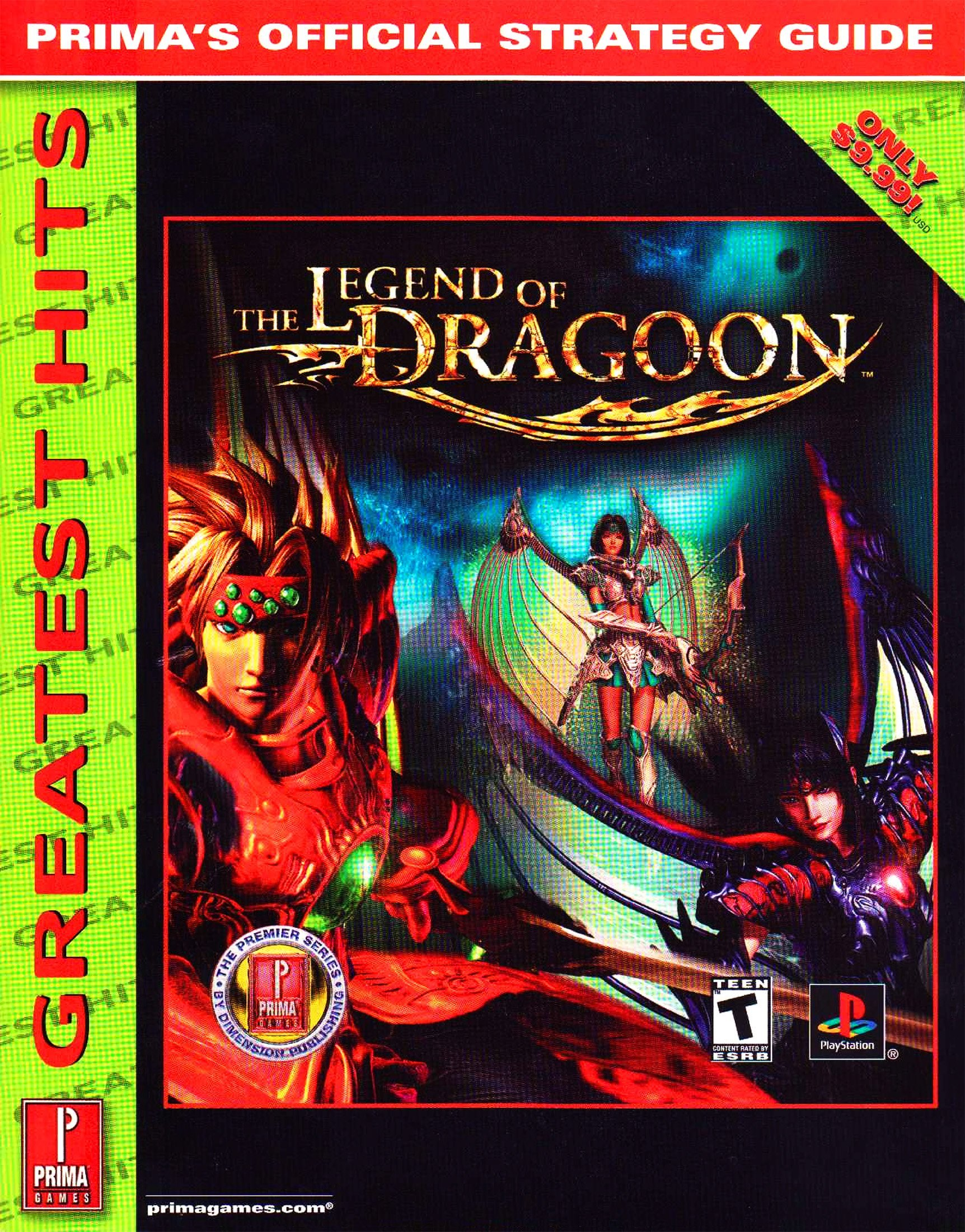 Legend of Dragoon, The Official Strategy Guide (Greatest Hits)