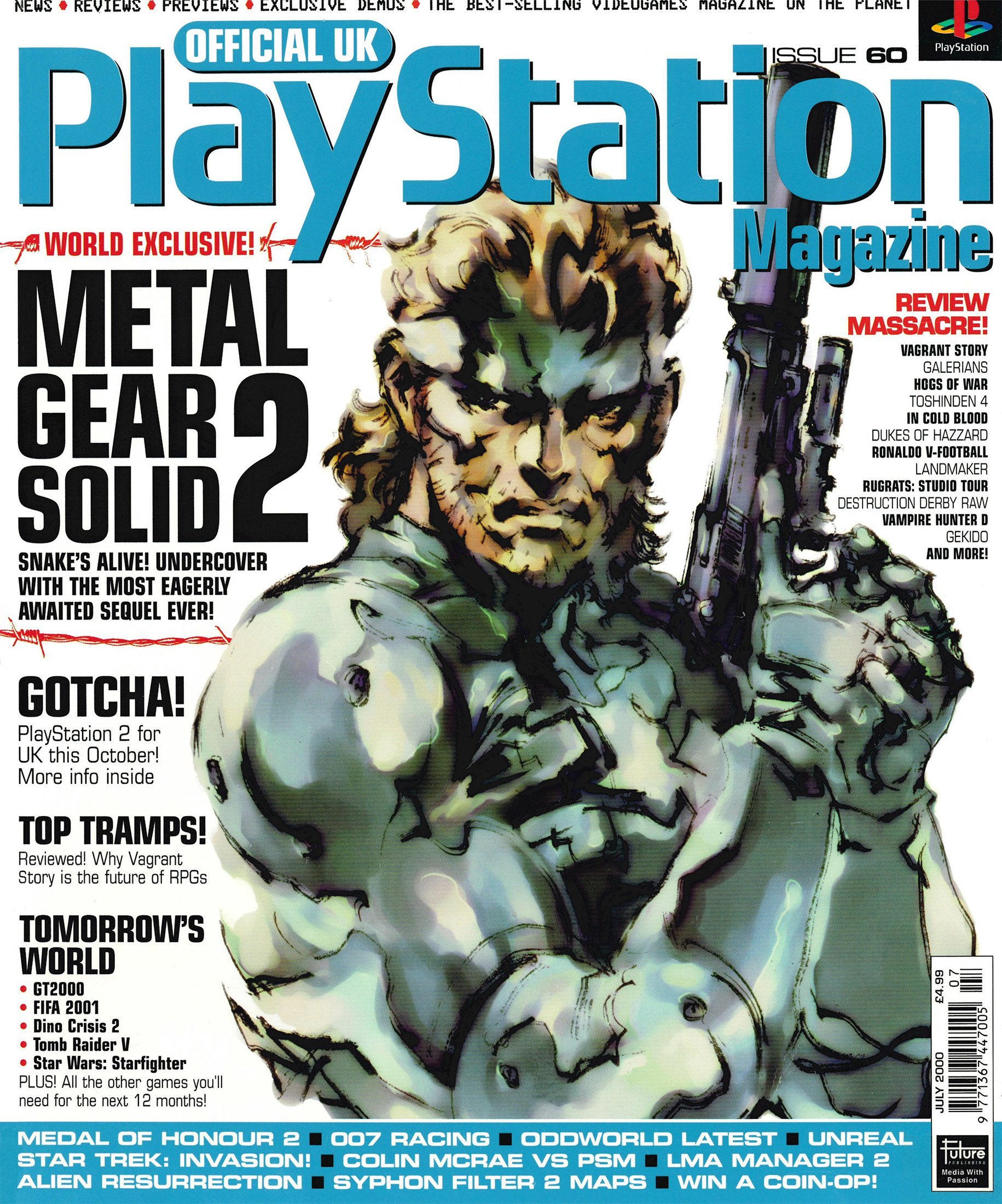 Official UK PlayStation Magazine Issue 060 (July 2000)