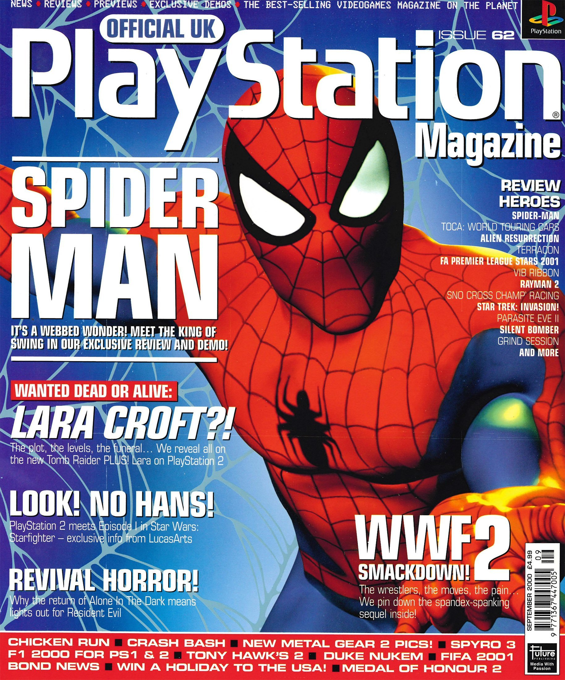 Official UK PlayStation Magazine Issue 062 (September 2000)