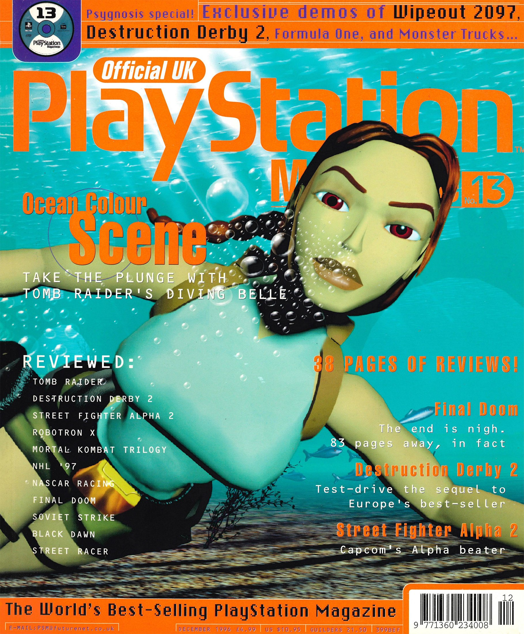 Official UK PlayStation Magazine Issue 013 (December 1996)