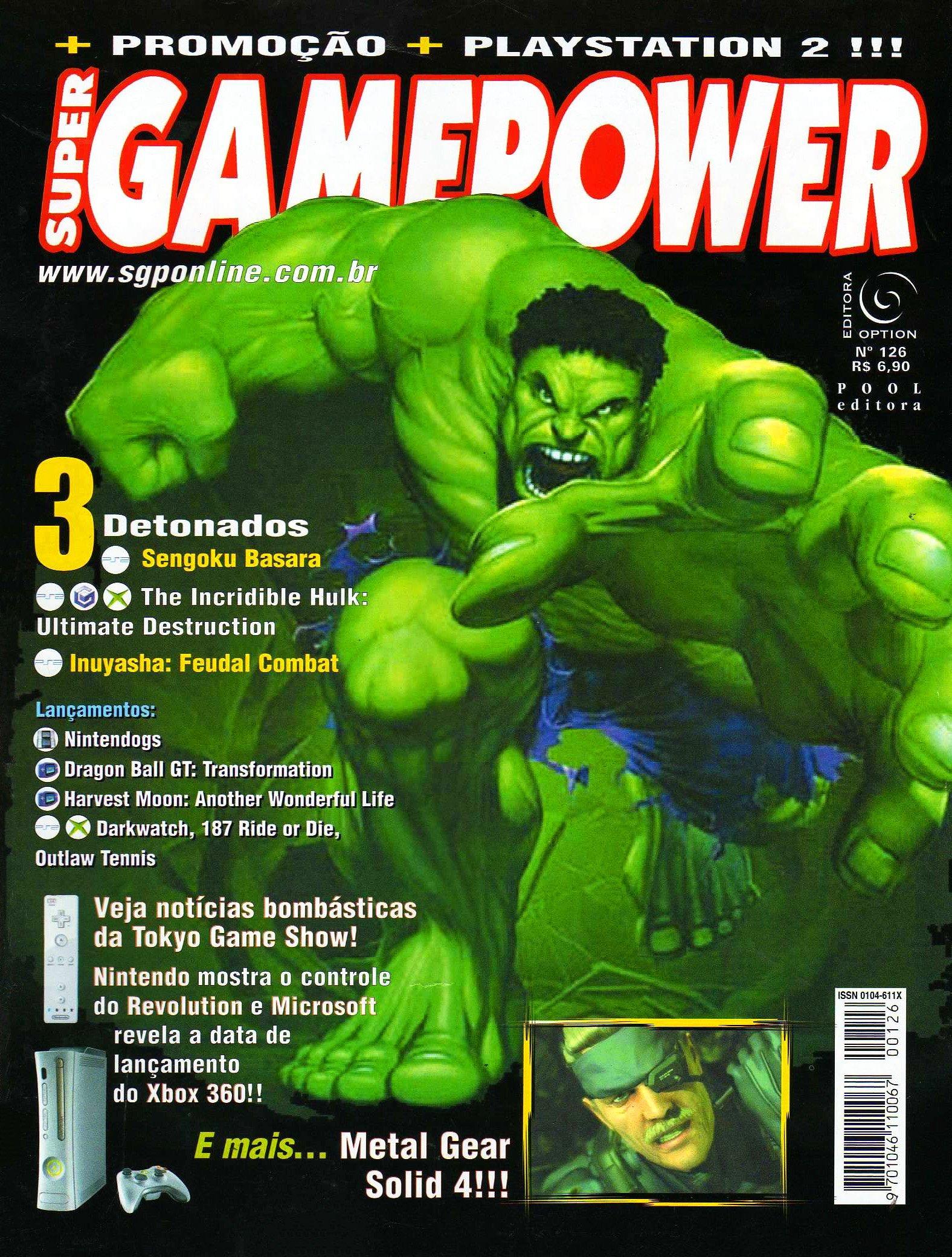 SuperGamePower Issue 126 (2005)