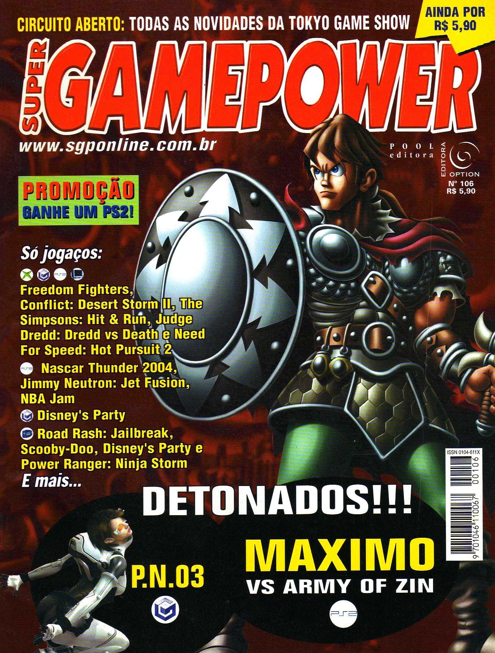 SuperGamePower Issue 106 (2003)