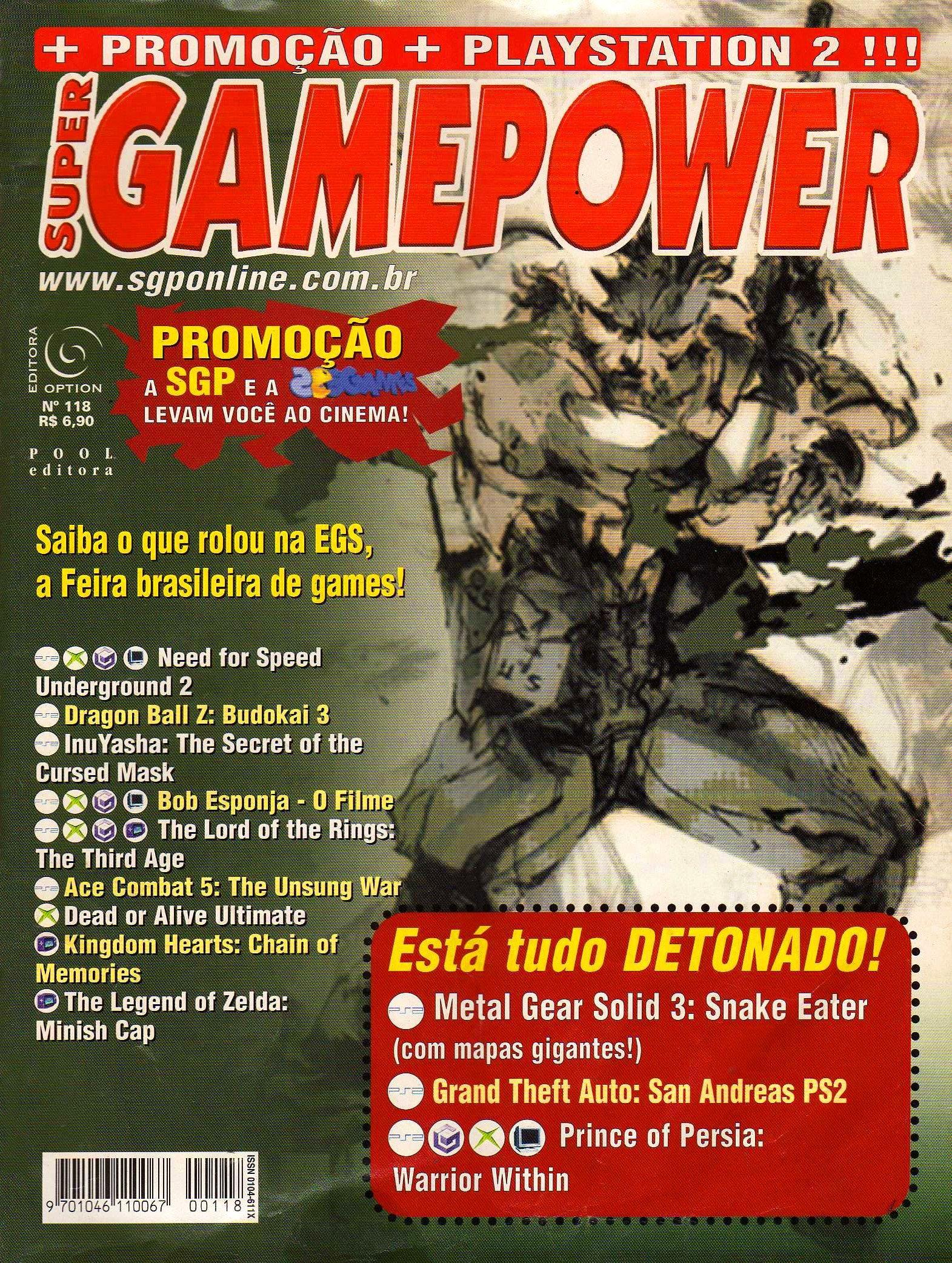 SuperGamePower Issue 118 (2004)