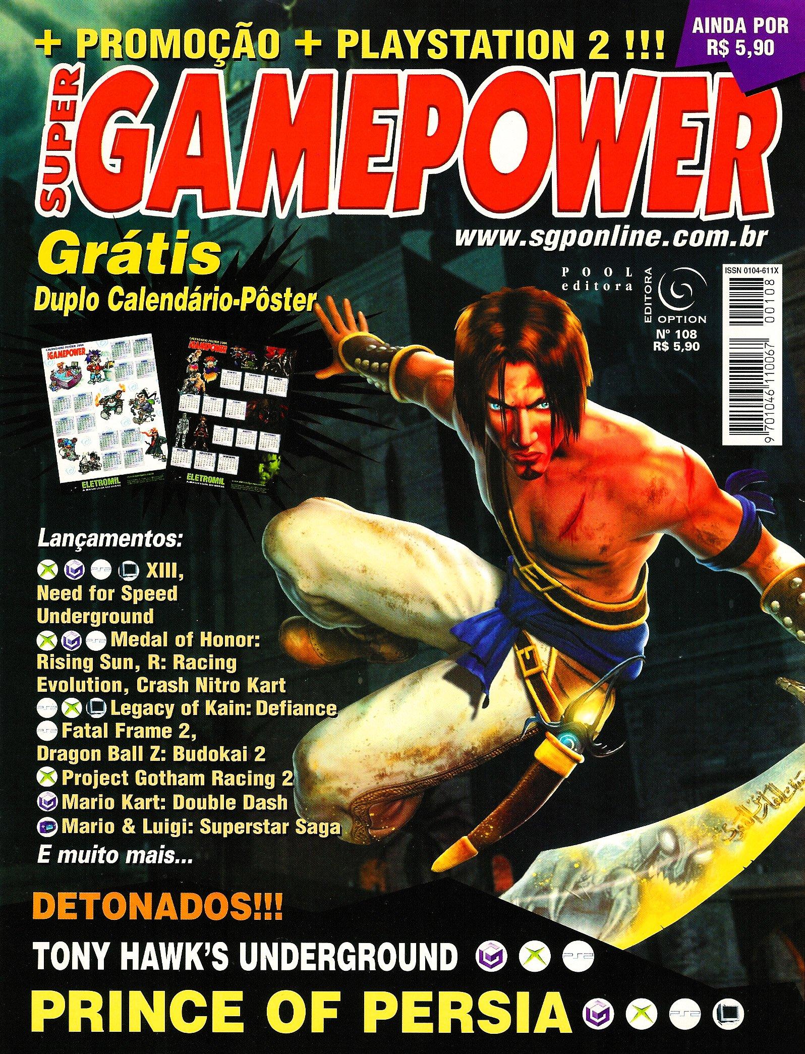 SuperGamePower Issue 108 (2003)