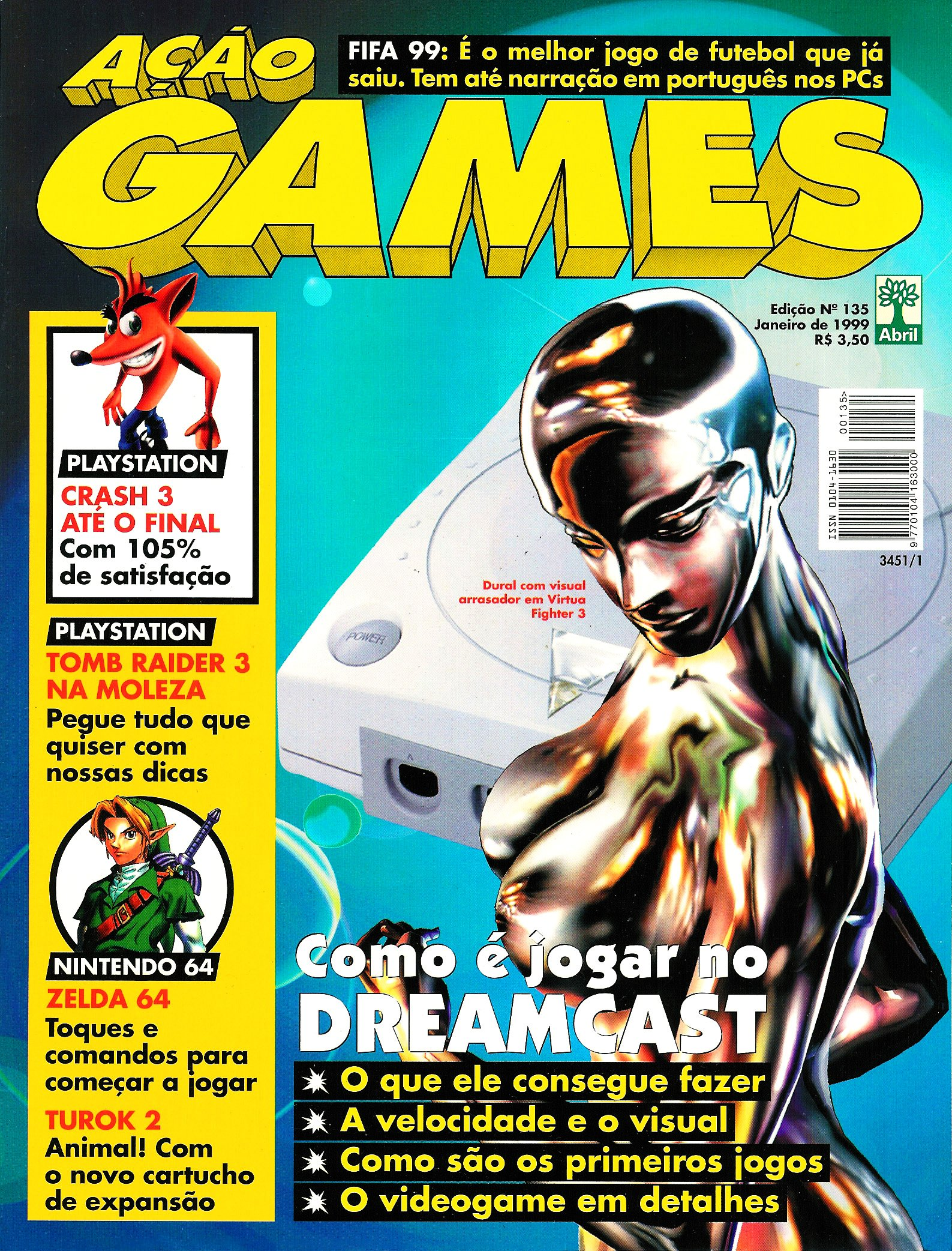 Acao Games Issue 135 (January 1999)