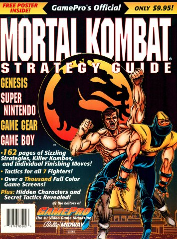 GamePro's Official Mortal Kombat Strategy Guide