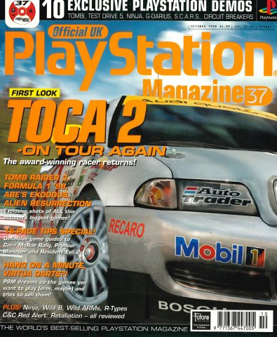 Official UK PlayStation Magazine Issue 037 (October 1998)