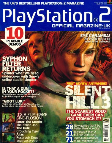 Official Playstation 2 Magazine UK 033 (May 2003)
