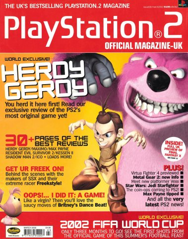 Official Playstation 2 Magazine UK 018 (March 2002)