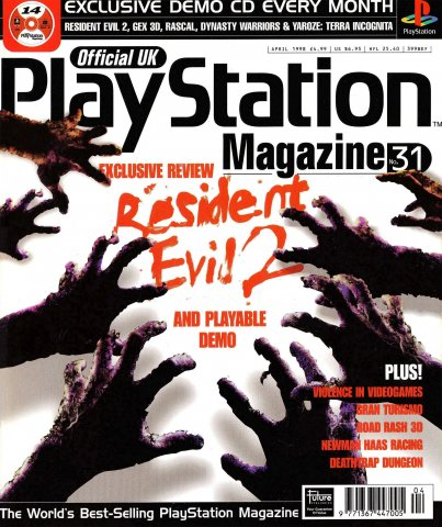 Official UK PlayStation Magazine Issue 031 (April 1998)
