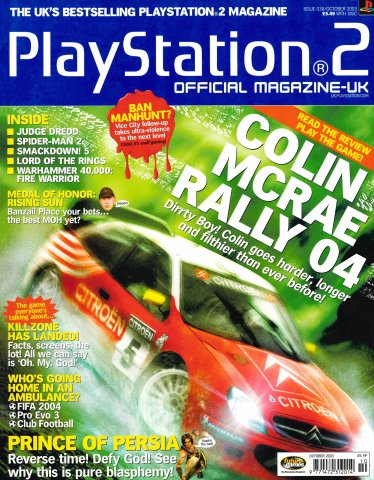 Official Playstation 2 Magazine UK 038 (October 2003)