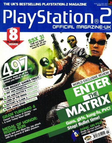 Official Playstation 2 Magazine UK 034 (June 2003)