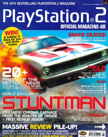 Official Playstation 2 Magazine UK 023 (August 2002)