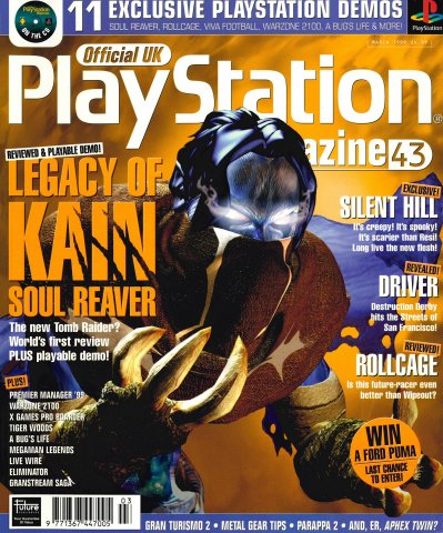 Official UK PlayStation Magazine Issue 043 (March 1999)
