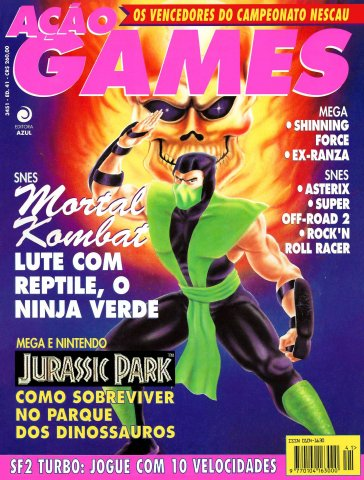 Acao Games Issue 041 (August 1993)