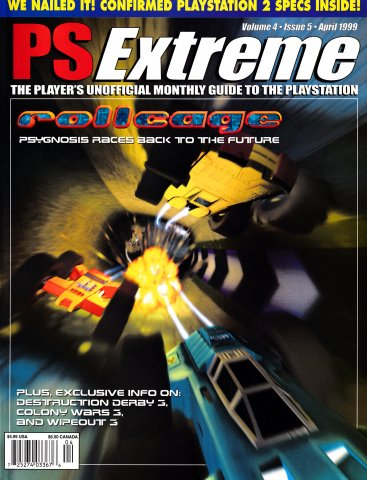 PSExtreme Issue 41 April 1999 Alternate Cover