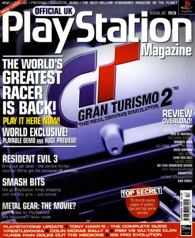 Official UK PlayStation Magazine Issue 053 (Christmas 1999)