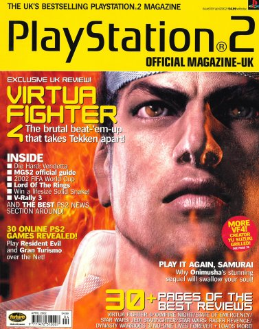 Official Playstation 2 Magazine UK 019 (April 2002)