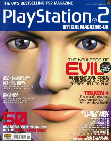 Official Playstation 2 Magazine UK 010 (August 2001)