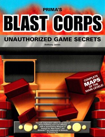 Blast Corps Unauthorized Game Secrets