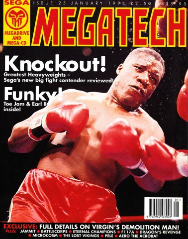 MegaTech 25 (January 1994)