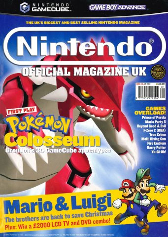 Nintendo Official Magazine 136 (January 2004)