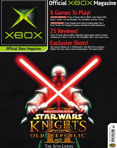 Official UK Xbox Magazine Issue 37 - Xmas 2004